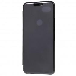 Plastikinis atverčiamas dėklas - juodas (Pixel 3a)
