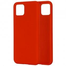 """""""Shell"""" kieto silikono (TPU) dėklas - raudonas (Pixel 4)"""