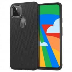 """""""Jazz"""" kieto silikono (TPU) dėklas - juodas (Galaxy A42 5G)"""