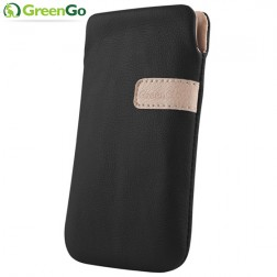 """GreenGo"" Fiesta įmautė - juoda (iPhone 5 / 5S / SE)"
