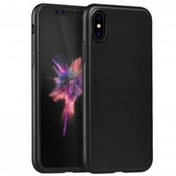 """""""HOCO"""" Pure dėklas - juodas (iPhone X)"""