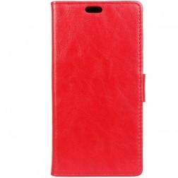 Atverčiamas dėklas, knygutė - raudonas (10 Evo)