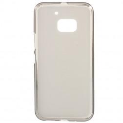 Kieto silikono (TPU) dėklas - skaidrus, pilkas (10)