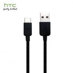 """""""HTC"""" USB Type-C laidas - juodas (1,2 m.)"""