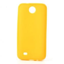 """""""Jelly Case"""" dėklas - geltonas (Desire 300)"""