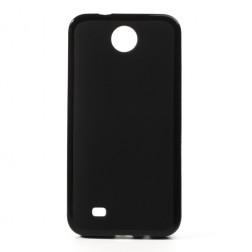 """""""Jelly Case"""" dėklas - juodas (Desire 300)"""