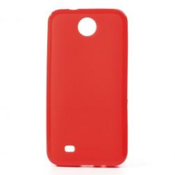 """""""Jelly Case"""" dėklas - raudonas (Desire 300)"""