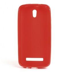 """""""Jelly Case"""" dėklas - raudonas (Desire 500)"""