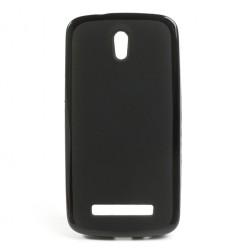 """""""Jelly Case"""" dėklas - juodas (Desire 500)"""