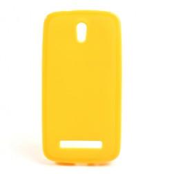 """""""Jelly Case"""" dėklas - geltonas (Desire 500)"""