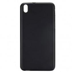 Kieto silikono matinis dėklas - juodas (Desire 816)