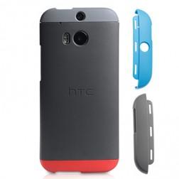 """Oficialus """"HTC"""" Double-Dip dėklas - pilkas (One M8 / One M8s)"""
