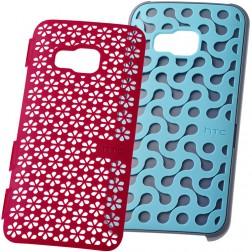 """""""HTC"""" Design Stand dėklas - rožinis/mėlynas (One M9)"""