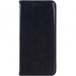 Solidus atverčiamas odinis dėklas - juodas (One M9)