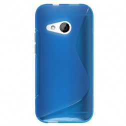 """S-Line"" kieto silikono (TPU) dėklas - mėlynas (One mini 2)"