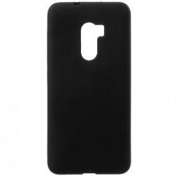 Kieto silikono (TPU) dėklas - juodas (One X10)