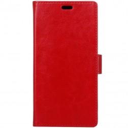 Atverčiamas dėklas - raudonas (U11 Plus)