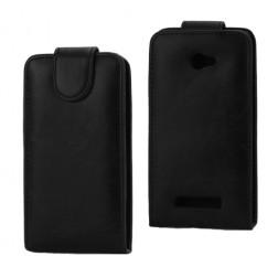 Atverčiamas dėklas - juodas (Windows Phone 8X)