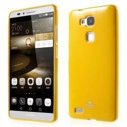 """""""Mercury"""" dėklas - geltonas (Ascend Mate 7)"""