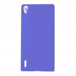 Plastikinis dėklas - mėlynas (Ascend P7)