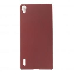 Plastikinis dėklas - raudonas (Ascend P7)