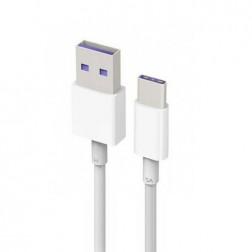 """""""Huawei"""" AP71 USB Type-C laidas - baltas (1 m.)"""