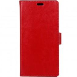 Atverčiamas dėklas, knygutė - raudonas (Honor 10)