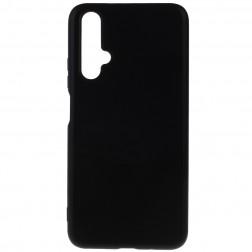 Kieto silikono (TPU) dėklas - juodas (Honor 20)