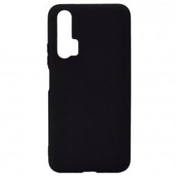 Kieto silikono (TPU) dėklas - juodas (Honor 20 Pro)