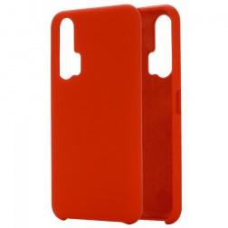 """""""Shell"""" kieto silikono (TPU) dėklas - raudonas (Honor 20 Pro)"""