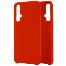 """""""Shell"""" kieto silikono (TPU) dėklas - raudonas (Honor 20 / Nova 5T)"""
