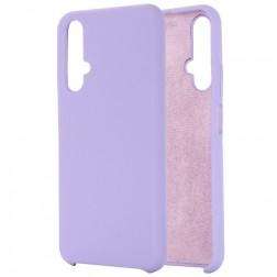 """Shell"" kieto silikono (TPU) dėklas - violetinis (Honor 20 / Nova 5T)"