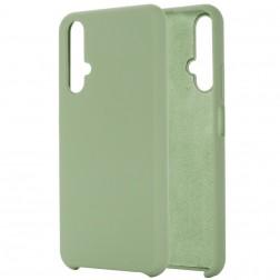 """Shell"" kieto silikono (TPU) dėklas - žalias (Honor 20 / Nova 5T)"