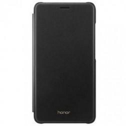 """""""Huawei"""" Flip Cover atverčiamas dėklas - juodas (Honor 5c / Honor 7 Lite)"""