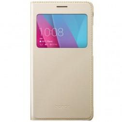 """""""Huawei"""" Smart Flip Cover atverčiamas dėklas - auksinis (Honor 5x)"""
