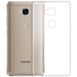 Kieto silikono (TPU) dėklas - skaidrus (Honor 5X)