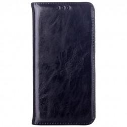 Solidus atverčiamas odinis dėklas - juodas (Honor 6)