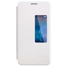 """""""Huawei"""" Smart Flip Cover atverčiamas dėklas - baltas (Honor 6)"""