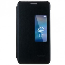 """""""Huawei"""" Smart Flip Cover atverčiamas dėklas - juodas (Honor 6)"""