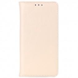 Solidus atverčiamas odinis dėklas -  smėlio spalvos (Honor 6)