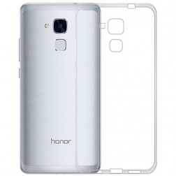 Kieto silikono (TPU) dėklas - skaidrus (Honor 5c / Honor 7 Lite)