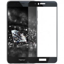 """Mocolo"" Tempered Glass apsauginis ekrano stiklas 0.26 mm - juodas (Honor 8)"