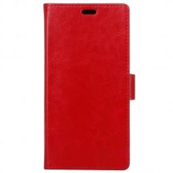 Atverčiamas dėklas, knygutė - raudonas (Honor 8X)