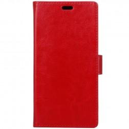 Atverčiamas dėklas, knygutė - raudonas (Honor 9)