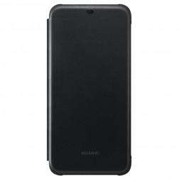 """""""Huawei"""" Flip Cover atverčiamas dėklas - juodas (Mate 20 Lite)"""