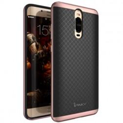 """""""IPAKY"""" kieto silikono (TPU) dėklas - juodas / rožinis (Mate 9 Pro)"""