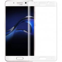 """Calans"" 9H Tempered Glass pilnai dengiantis apsauginis ekrano stiklas 0.2 mm - baltas (Mate 9 Pro)"