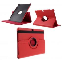 Atverčiamas dėklas (360°) - raudonas (MediaPad M2 10)