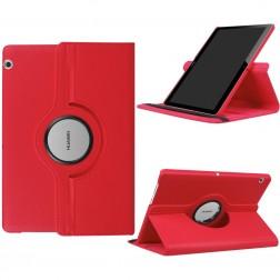 Atverčiamas dėklas (360°) - raudonas (MediaPad T3 10)