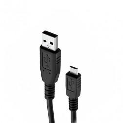 """""""Huawei"""" micro USB laidas - juodas (1 m.)"""